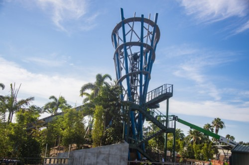 If you dare to journey Infinity Falls at SeaWorld...wet happens.  | Suites at Staybridge Suites Orlando at SeaWorld