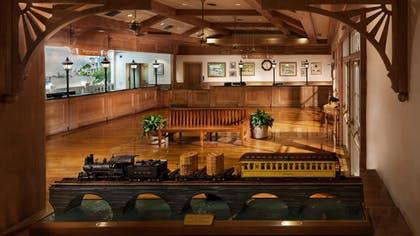 recepción |  Disney Old Key West Resort