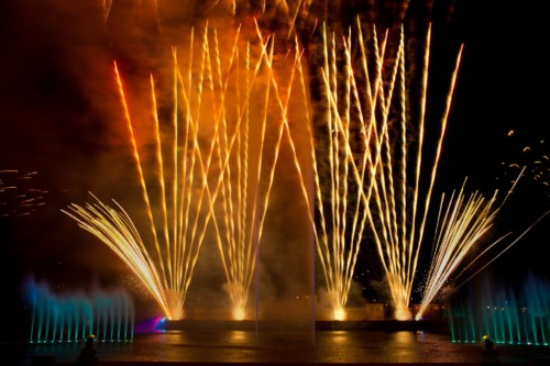 The fireworks shows at SeaWorld are a must see when you visit. | Suites at Staybridge Suites Orlando at SeaWorld