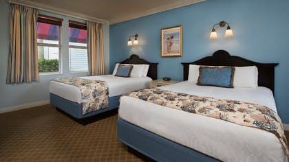Dos camas tamaño queen |  Villa de dos dormitorios |  Disney Old Key West Resort