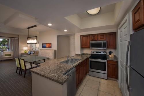 Villa Area Cucina |  Le suite del Marriott Grande Vista